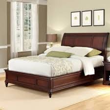 mahogany bed frame. Fine Mahogany Lafayette King Sleigh Bed By Home Styles And Mahogany Frame R