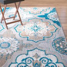 large size of blue brown area rug winston porter albion taupe blue brown area rug wayfair