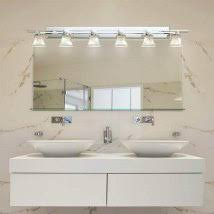 pictures of bathroom lighting. Clouds Polished Chrome Six-Light Bath Bar Pictures Of Bathroom Lighting