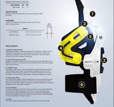 Mobius X8 Size Chart Mobius X8 Wrist Brace Mobius X8 Wrist Brace White Yellow