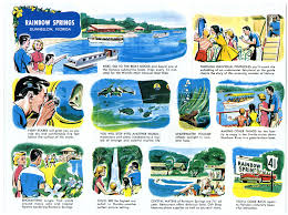 brochure from around 1959 advertising rainbow springs or tap the image to view the