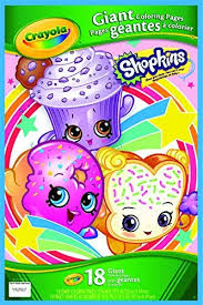 Signup to get the inside scoop from our monthly newsletters. Amazon Com Crayola Shopkins Giant Coloring Pages Toys Games