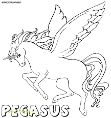Unicorn Pegasus Coloring Pages Futuramame