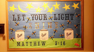 Be The Light Bulletin Board