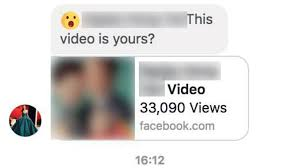 Rigged Facebook With Resurface Malware Messages This Video Yours Is wRnPT6X