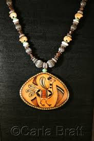 zuni bird gourd necklace
