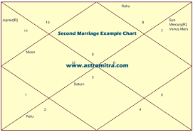 Free Vedic Birth Chart With Interpretation Second Marriage Through Horoscope Second Marriage Timing In