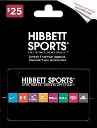 Amazon.com: Hibbett Sports $25 Gift Card: Gift Cards