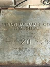 antique union biscuit company 20 st