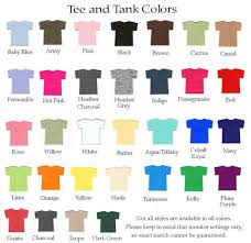 T Shirt Color Chart Rhinestone Sister Of The Bride Tee Or Tank Top Sister Of The Groom T Shirt Or Tank Other Titles Too