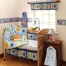 sports nursery bedding sets custom