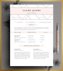 get hired on pinterest creative resume resume and resume template cv template editable in ms word and pages