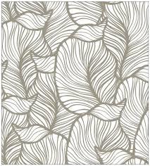 Myspotti Fensterfolie Myspotti Look Leaves Beige 90 X 100 Cm