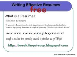 Free Online Resume Writer Adorable BREAK THE PRIVACY NO SYSTEM IS SAFE Top 28 Online Resume Writing