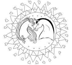 Disegno Unicorni Disegni Di Unicorni Kawaii Usitv Info