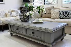 chalk painted coffee tables painting table with