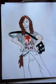 Bill Kaulitz Dibujos A Mano Pinterest