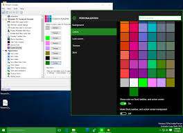 Windows 10 Color Scheme Add Custom Colors In Settings App Of Windows 10