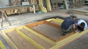 la construction d un chalet en bois