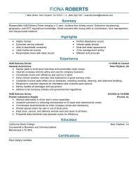Truck Driving Job Description Job And Resume Template