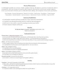 Resume Recent Grad College Grad Resume Examples And Advice Resume Makeover