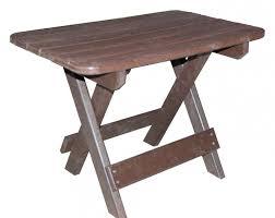 furniture deck. Folding Table - Cedar Furniture Deck P