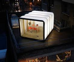 Outdoor office pod Home Office Materialicious Outdoor Office Pods 12 Great Designs