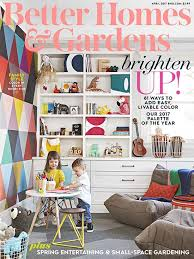 better homes and gardens april