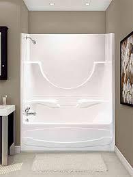 Decorate Around A Fiberglass Tub Shower Combo Enclosure  Google One Piece Fiberglass Tub Shower Combo