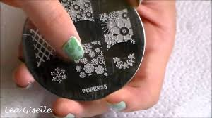 Nail art stamping ideas:PUEEN25 - YouTube