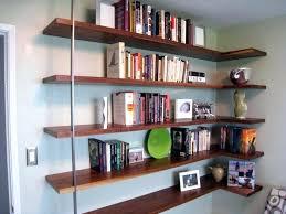 corner bookshelf ideas cool book shelves 7 shelf s wall mount decorating bookcase for bedroom