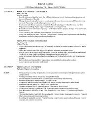 Accounts Payable Resume Examples Accounts Payable Coordinator Resume Samples Velvet Jobs