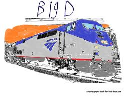 amtrak train drawing. Exellent Amtrak Evening Amtrak Oil Painting By Pudgemountain  On Train Drawing T