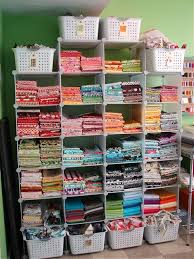 72 best Quilting room ideas images on Pinterest | Sewing rooms ... & For my Mom...quilting studio stash organization - like the tags on the Adamdwight.com