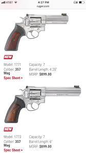 7 shot gp100 or 8 shot redhawk