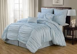 pale blue bedding and curtains on blue bedroom comforter sets for girls bed