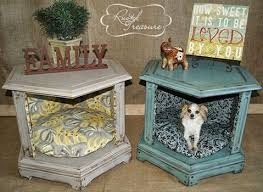 repurpose furniture dog. Turn An Old End Table Into A Dog Bed...awesome Upcycled \u0026 Repurposed Repurpose Furniture U