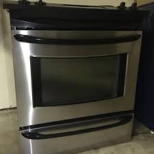 kenmore stove stainless steel. kenmore 4.6 cu. ft. self-clean slide-in electric range w/ stove stainless steel e