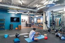 twitter office.  office crossfit gym at twitter  inside office r