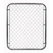 commercial chain link fence parts. YardGard Chain Link Fence Gate Galvanized 4 In. H X 6 Ft. L(3283AD48) - \u0026 Accessories Ace Hardware Commercial Parts