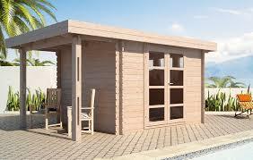 moderna 10 x 10 wood storage shed
