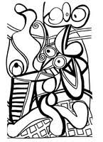 Find & download free graphic resources for kids coloring. Anti Stress Coloring Pages Picasso