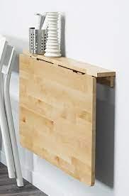 ikea wall mounted drop leaf table