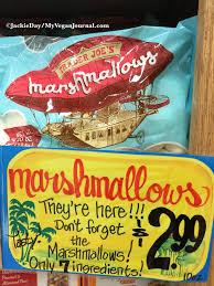 trader joe s vegan marshmallows snacks chips