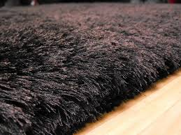 plush dark chocolate gy rug