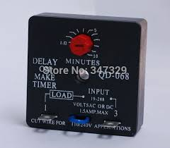 time delay relay qd 068 delay on make timer with 0 03~10minutes Timer Relay time delay relay qd 068 delay on make timer with 0 03~10minutes adjustable delay