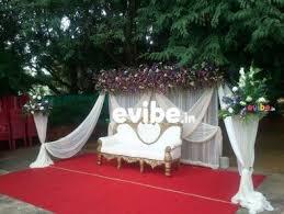 Flower Decoration Design Best Wedding Reception Engagement Stage Flower Decorators Simple 76