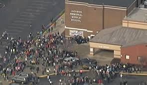 school bathroom. A Seventh-grader Shot Himself In The Head At Jackson Memorial Middle School On Tuesday Bathroom
