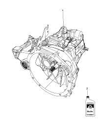 2009 dodge caliber transmission transaxle assembly diagram i2225788