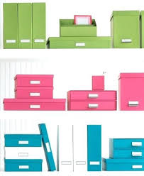 decorative office storage. Unique Office Office Storage Boxes The Container Store Bright    Intended Decorative Office Storage O
